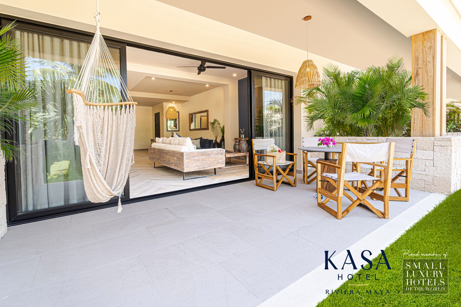 Involved in the design of the property is the local Kasa group.