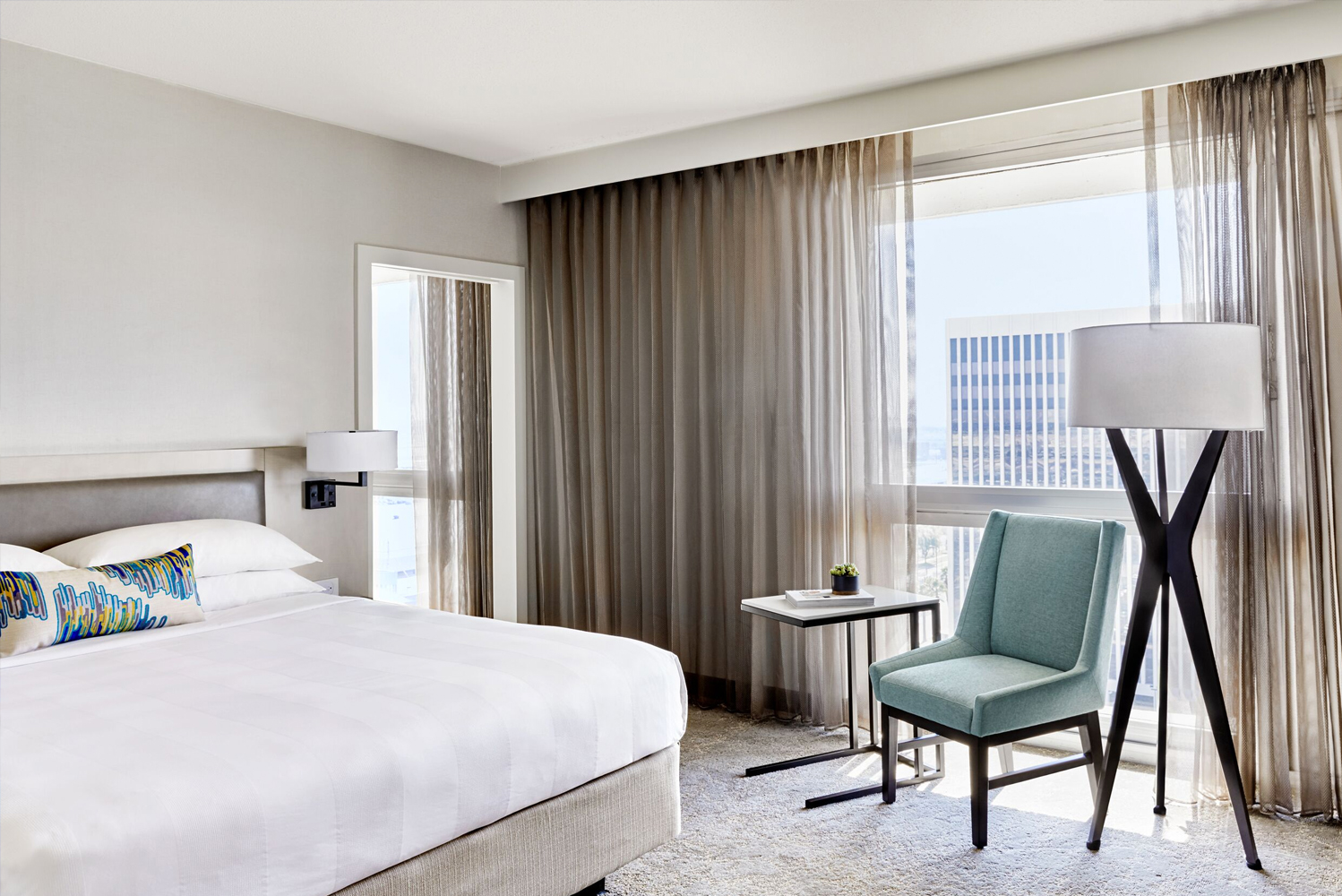 LAX Marriott earlier completed the first phase of a property-wide renovation.
