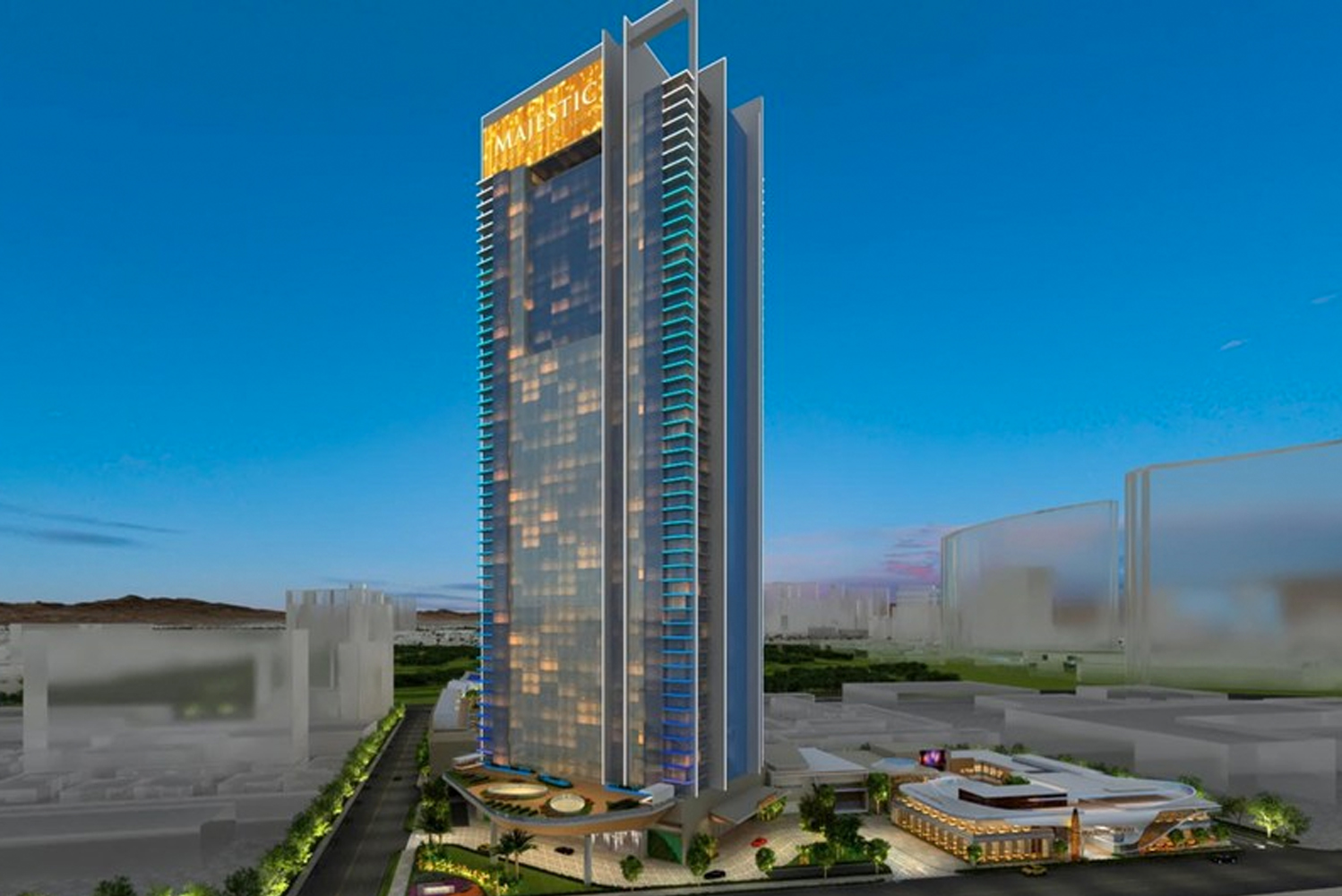 Majestic Las Vegas, the brainchild of Las Vegas developer Lorenzo Doumani, is set to break ground following the project's approval by the Clark County Commissioners.