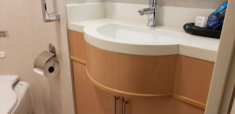 Sink in Cabin No. 204