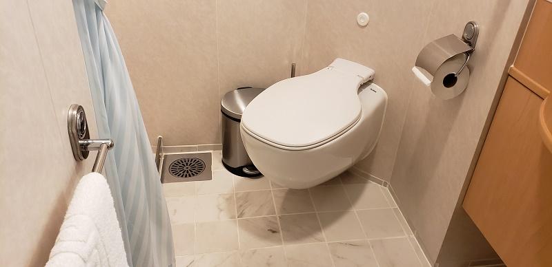 Bathroom, Cabin No. 204