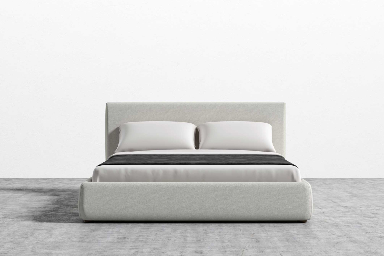 Rove Concepts announced the Ophelia, a bed frame with smooth upholstery, plush cushioning, and rounded edges.