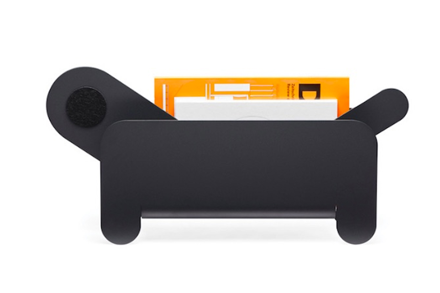 Netherlands-based international design agency Frederick Roije launched Paper Pet, a magazine rack inspired by pets.