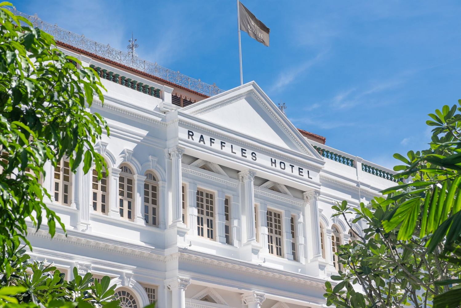 Raffles Singapore officially reopened.