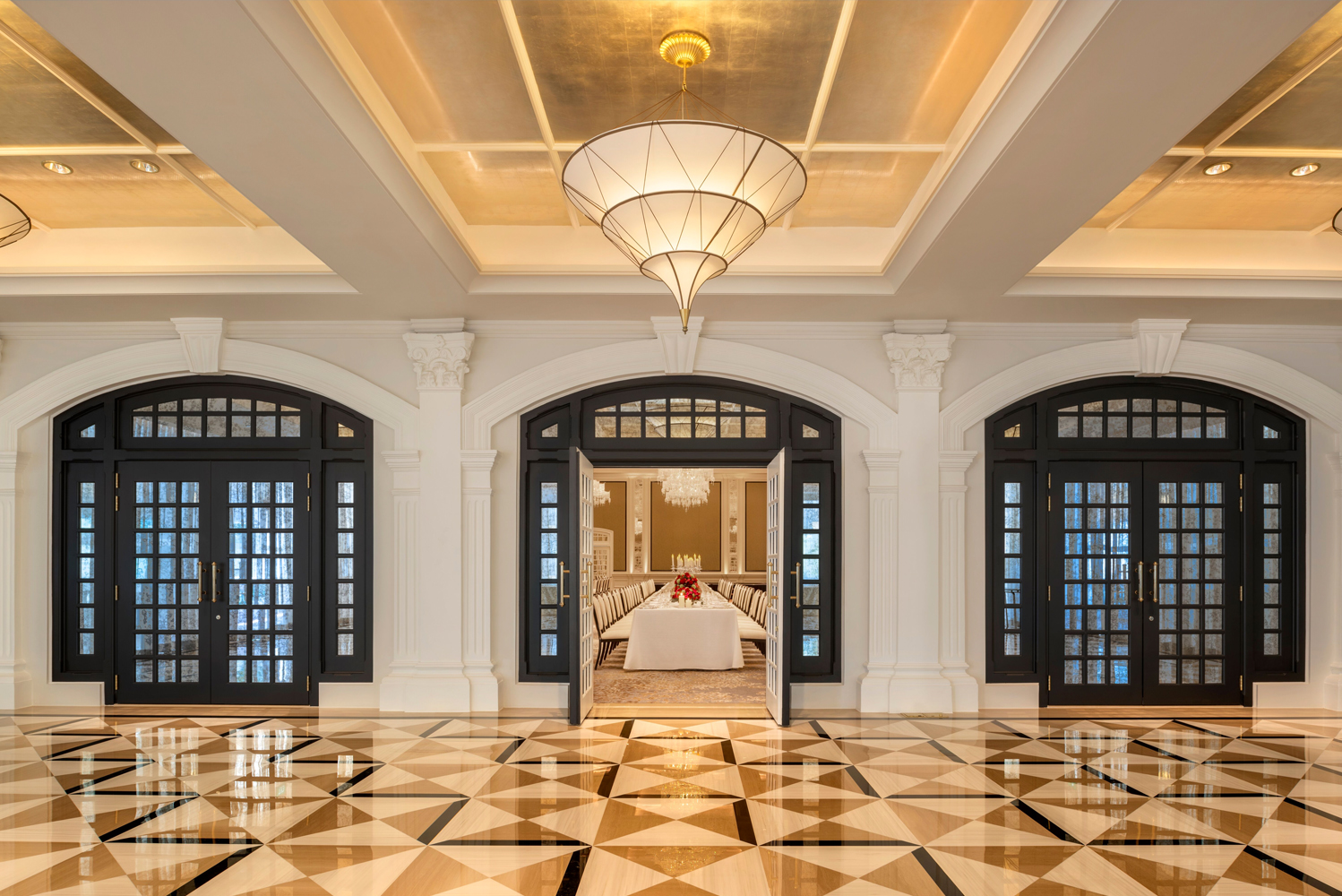 A flagship property within Accor, the hotel's three-phased restoration began in February 2017.