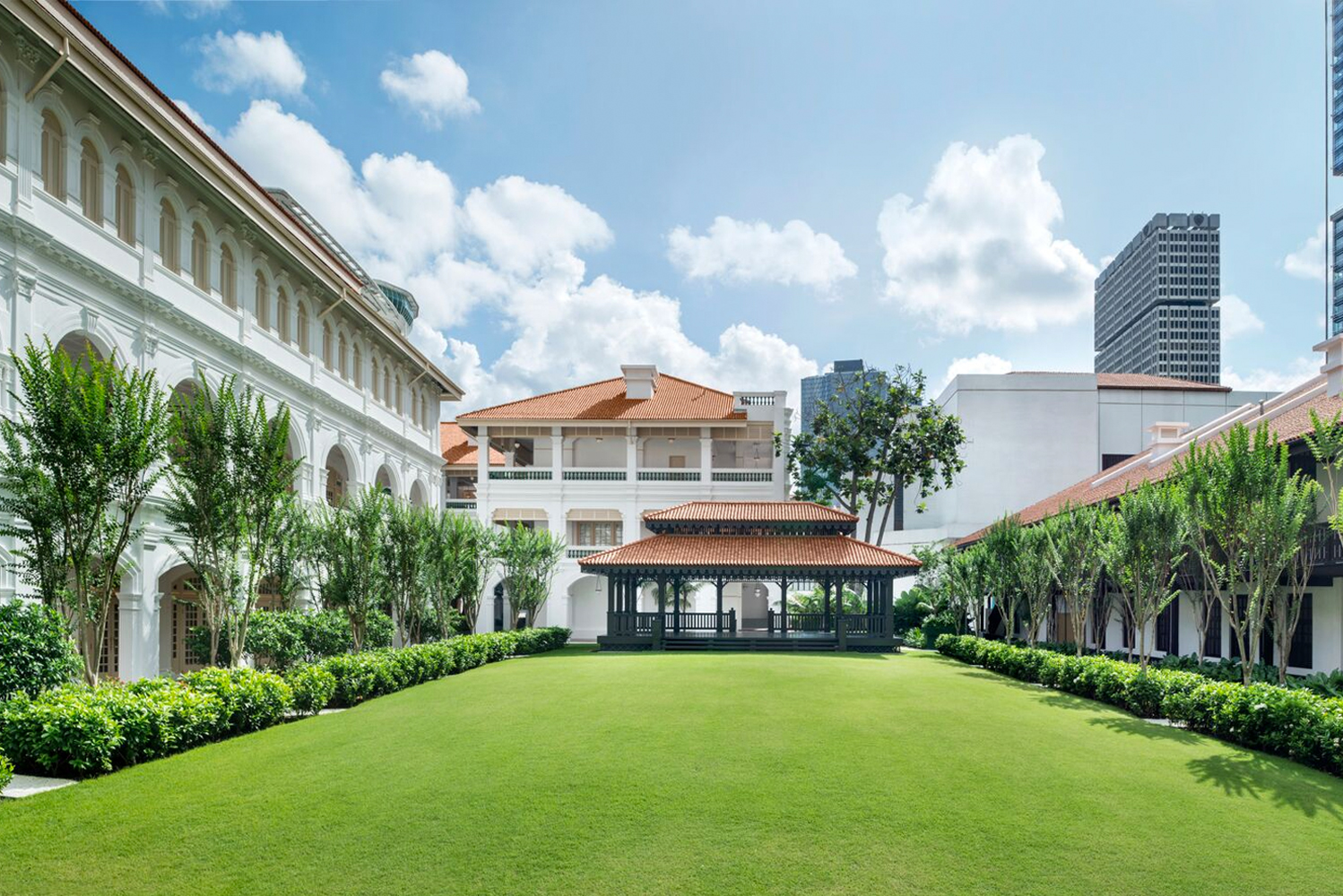 First opened in 1887, Raffles Singapore was declared a National Monument a century later by the Singapore Government in 1987.