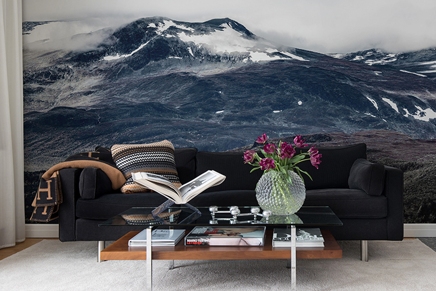 Rebel Walls launched a new wallpaper collection, Scandinavia.