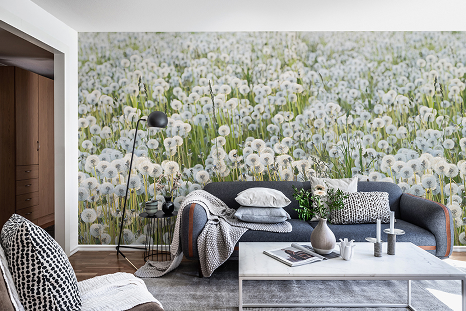 The Scandinavia wallpaper collection includes 30 places.