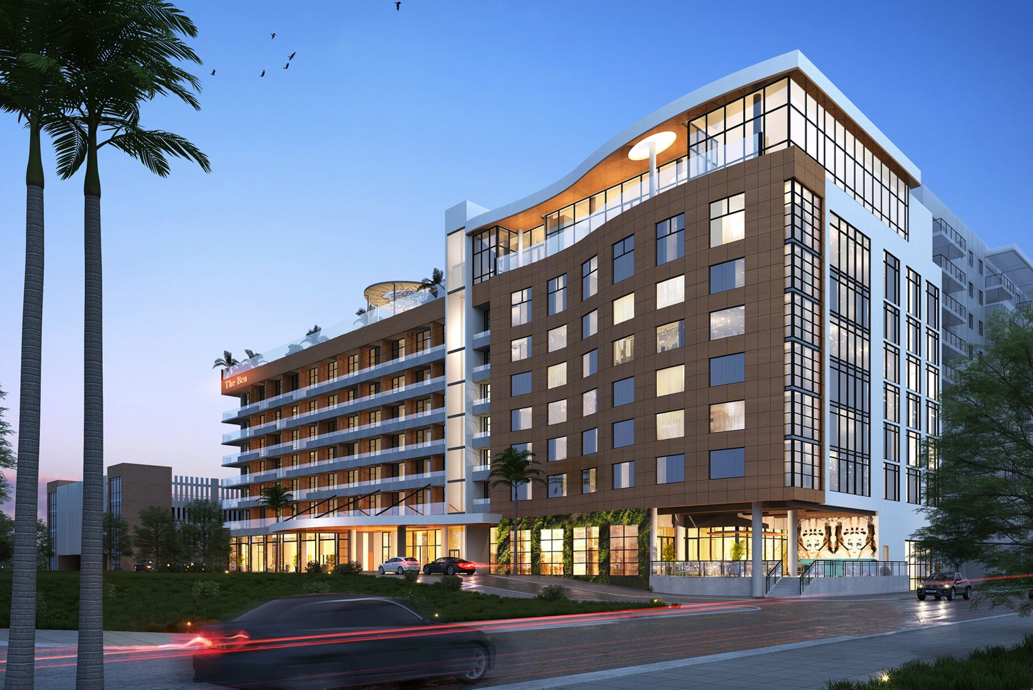 The Ben West Palm is slated for a winter opening.