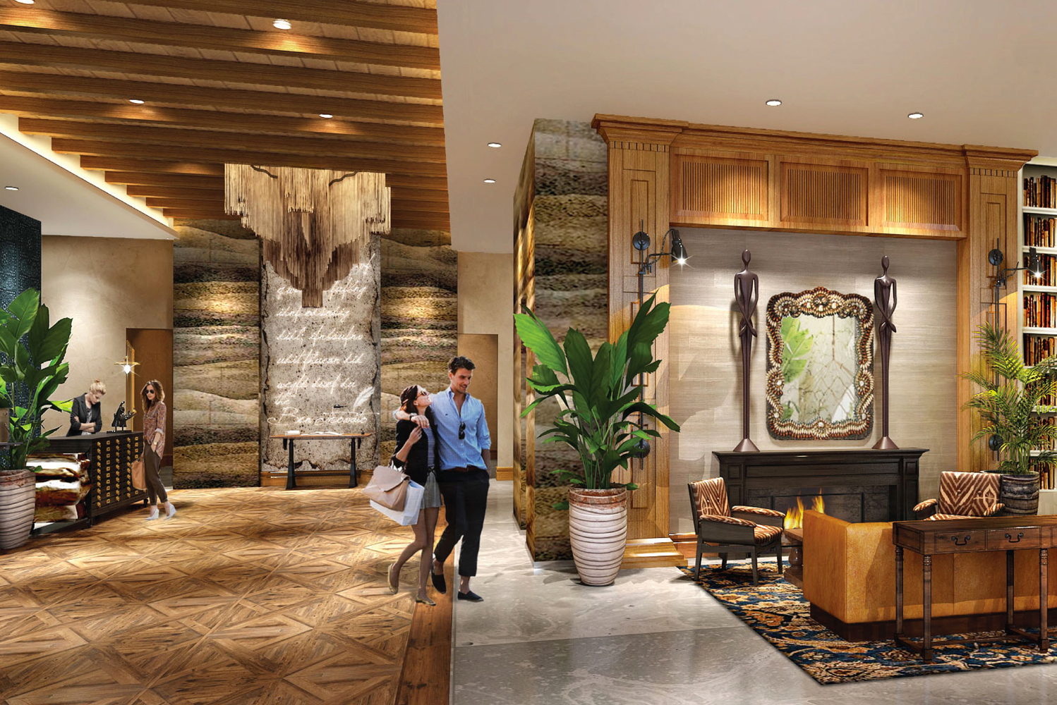 Part of Autograph Collection, Marriott International's collection of hotels, The Ben is the focal point of Flagler Banyan Square, a 3.5-acre mixed-use waterfront development.