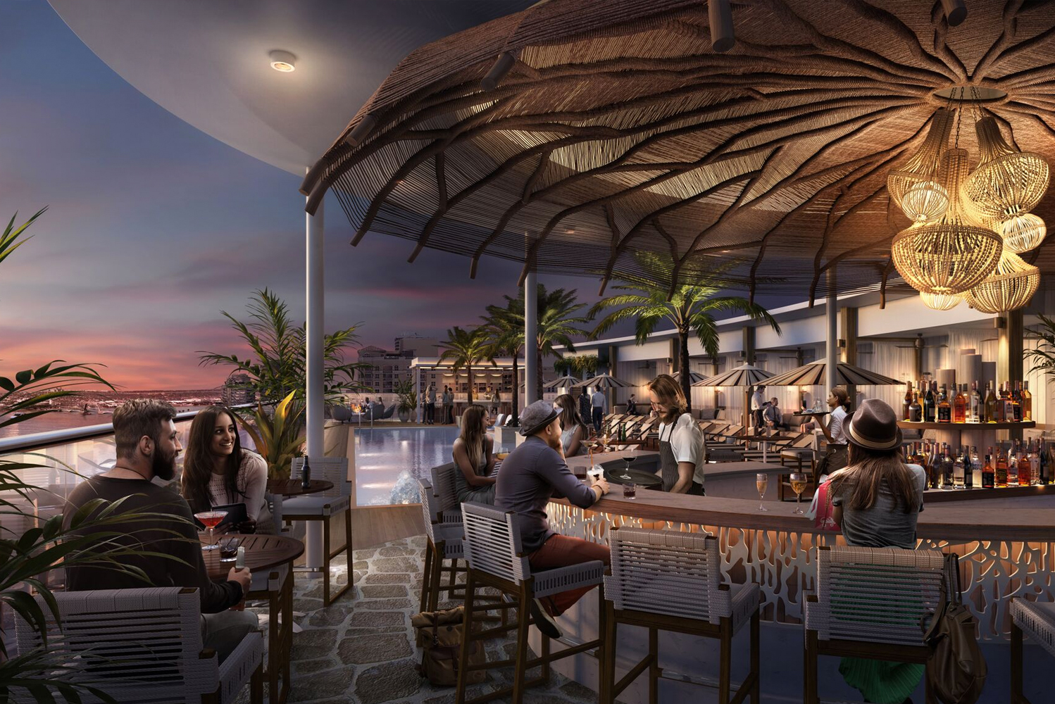 The property will be outfitted by South Florida design and architecture firm EoA.