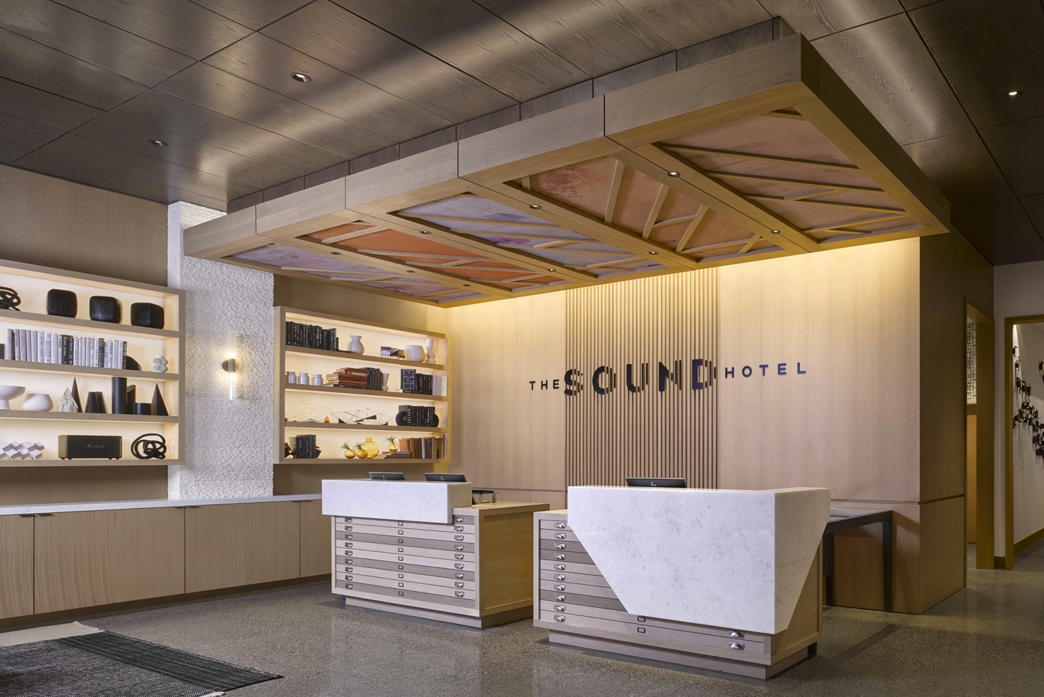 Hospitality interior design firm Hirsch Bedner Associates (HBA) completed the design of The Sound Hotel Seattle Belltown, Tapestry Collection by Hilton.