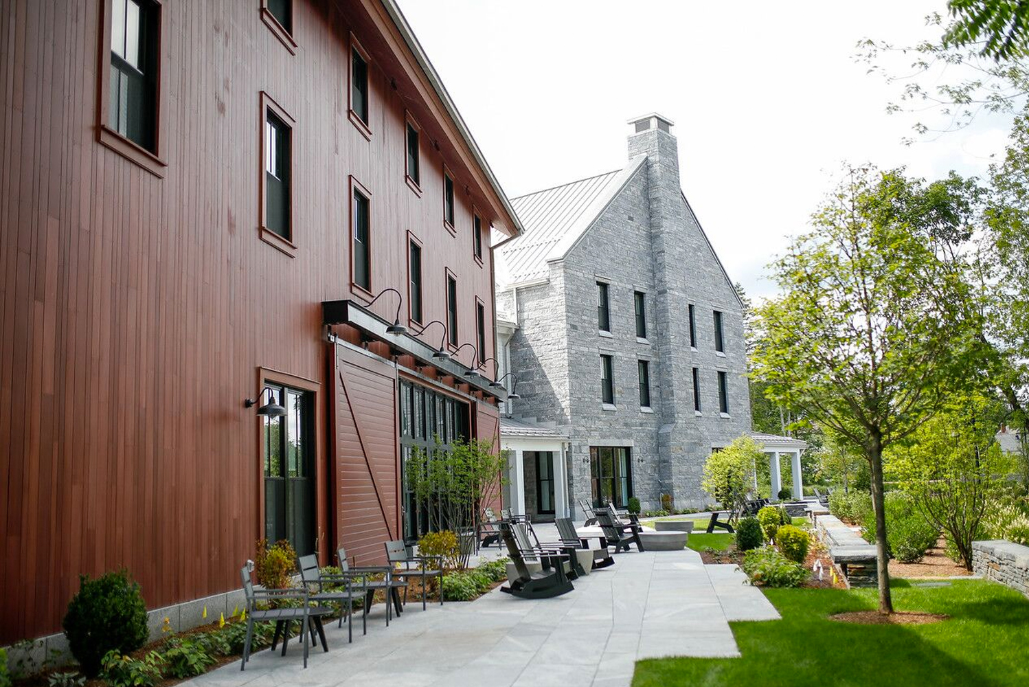 The Williams Inn opened as a new three-story, 58,000-square-foot, 64-room property in Williamstown, Massachusetts, in the Northern Berkshires.