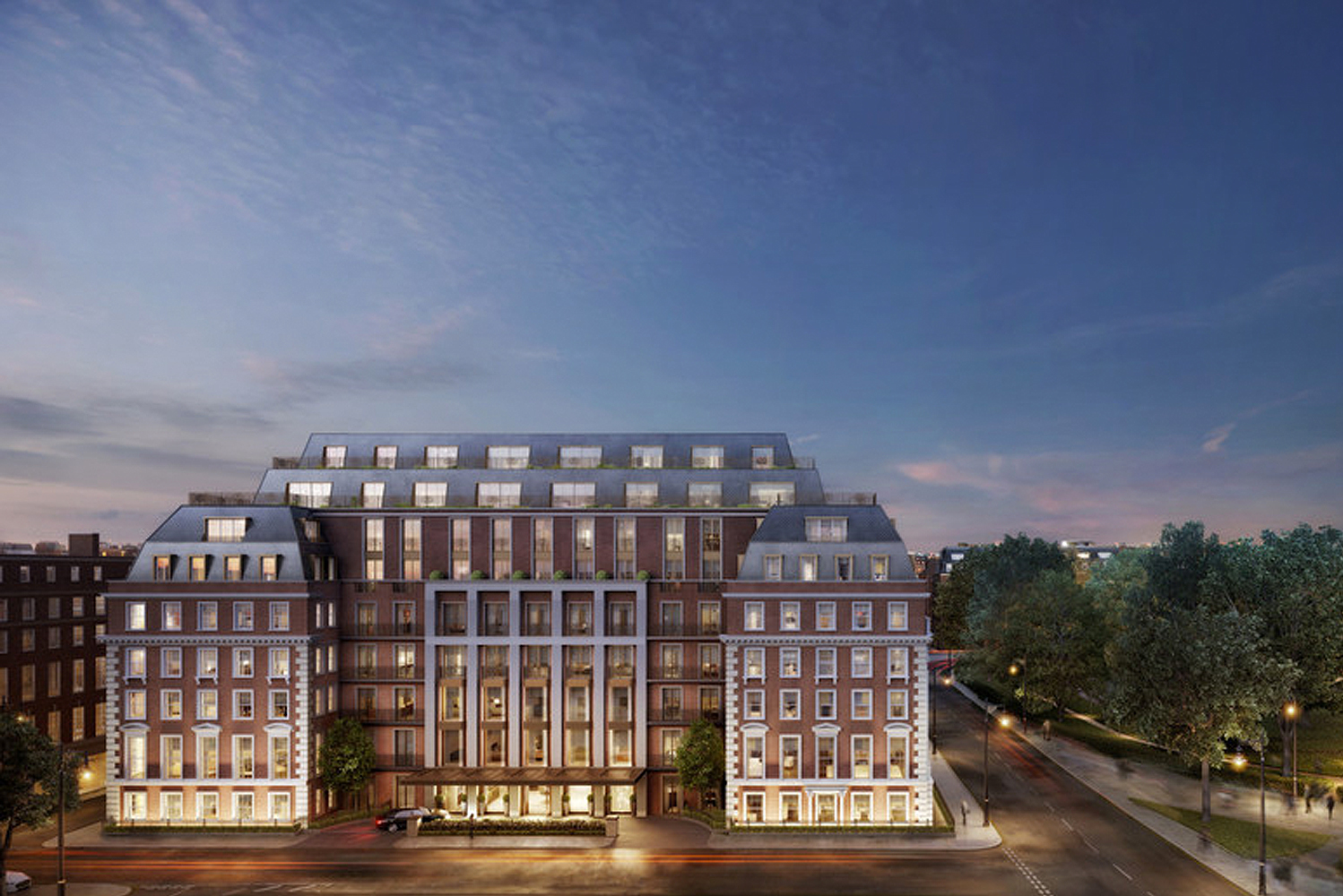 Finchatton and Four Seasons Hotels and Resorts unveiled the first look at Twenty Grosvenor Square, A Four Seasons Residence.