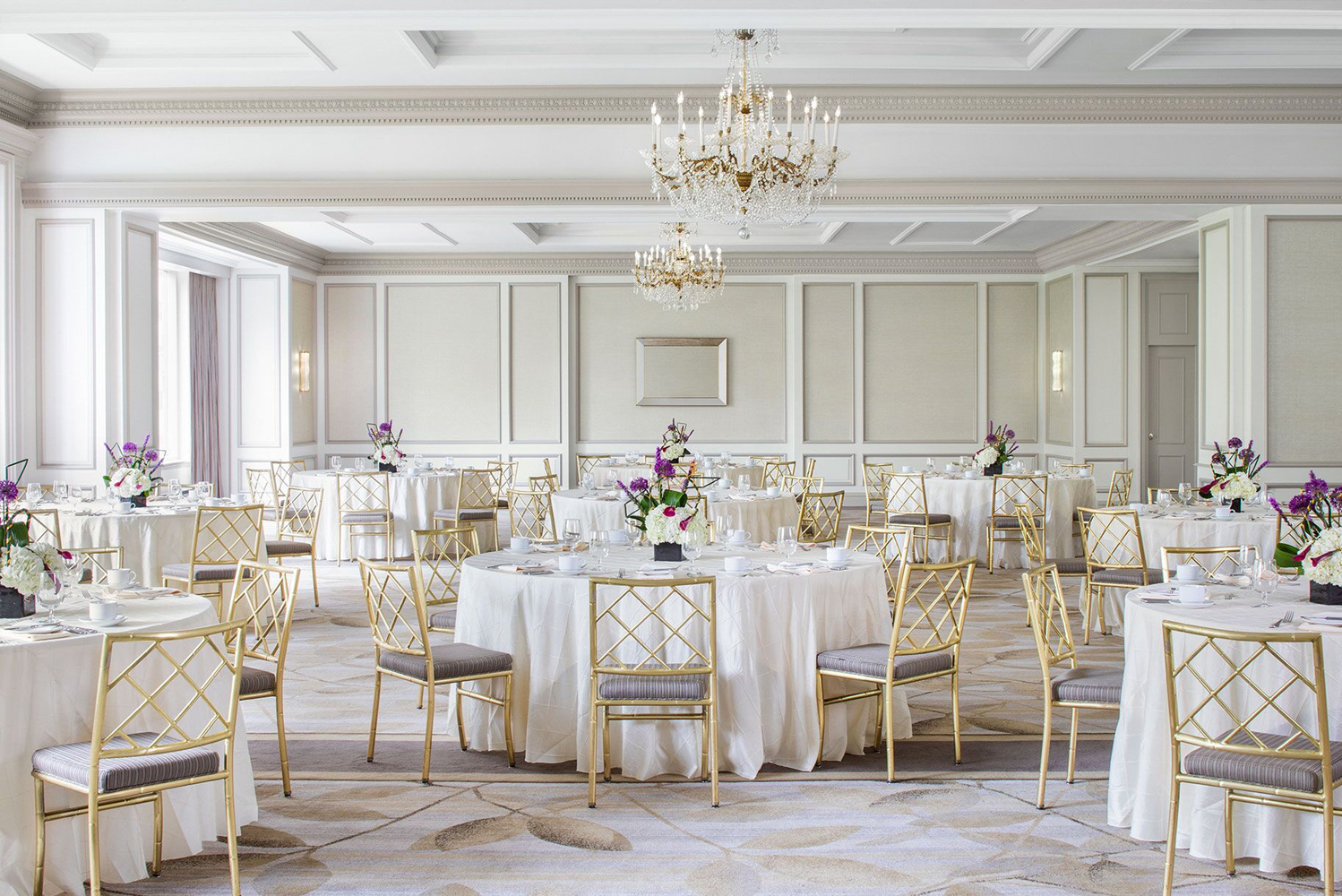 The Westin Philadelphia completed a $2 million renovation to its event spaces, including the Grand Ballroom and the Georgian Room with views overlooking 17th Street.
