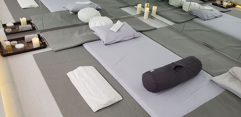 Yoga Studio // Photo by Susan J. Young