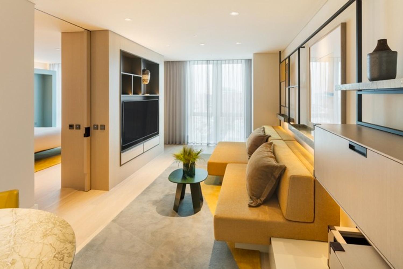 Andaz Seoul Gangnam was designed by Dutch firm Studio Piet Boon.