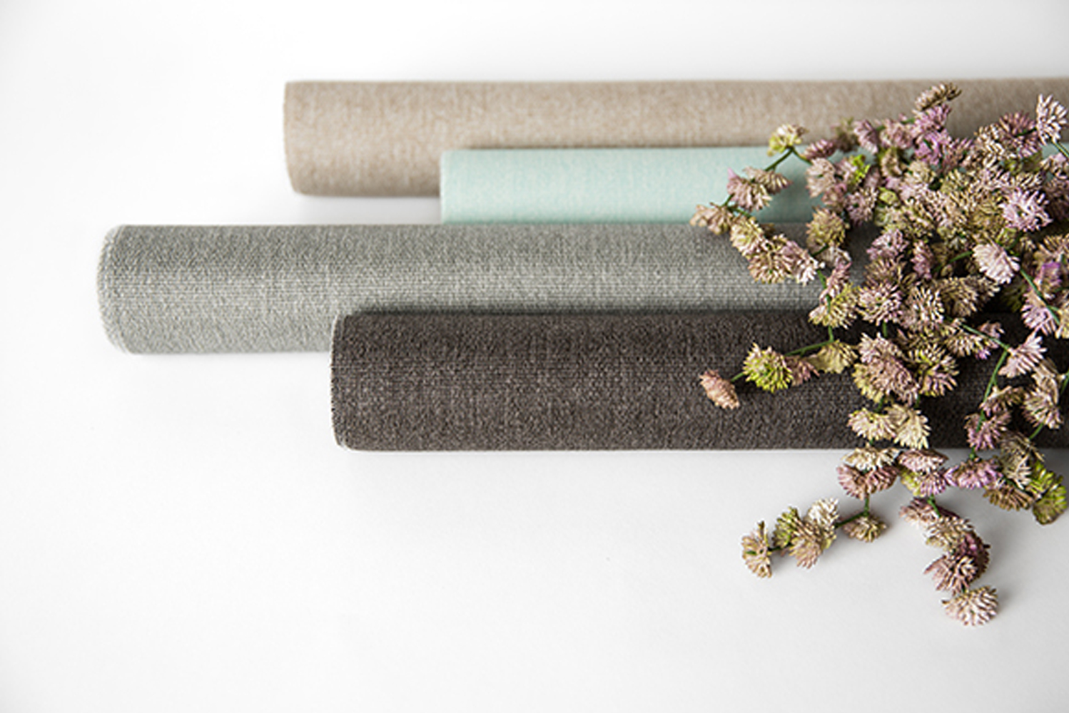 These three coordinating patterns are available in nine colorways, made with Bella-Dura Solution-Dyed Polypropylene and are all protected by a Greenshield finish.