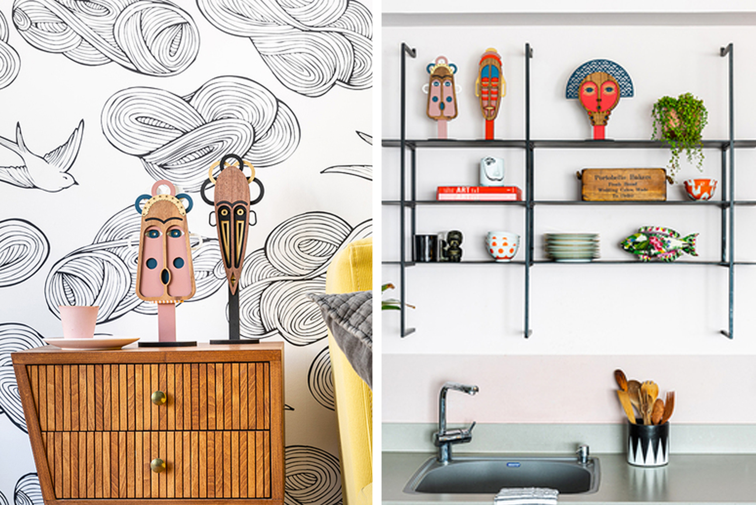 Decor brand Umasqu announced the Chili Tribe collection of decors/accessories.