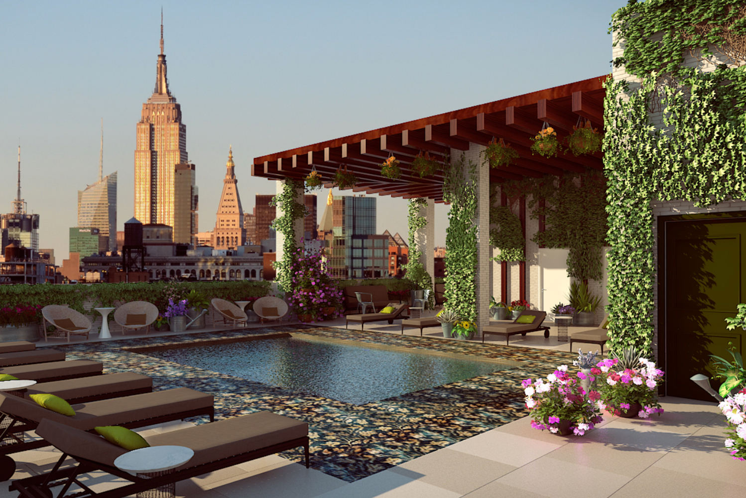 Renaissance New York Chelsea Hotel is scheduled to open a new restaurant this Fall 2019.