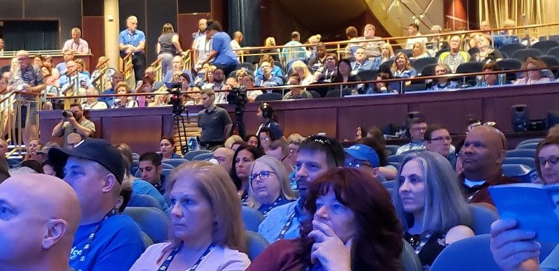 Travel advisors attend DARE, the 2019 National Conference of Dream Vacations, CruiseOne and Cruises Inc.