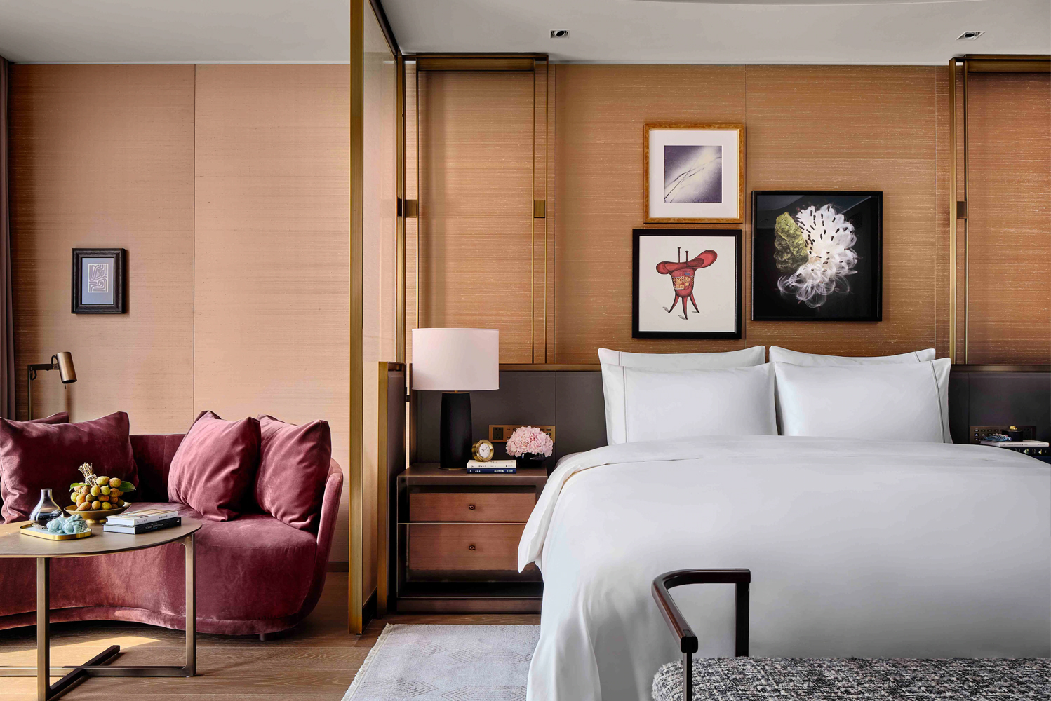 The second urban outpost for Rosewood Hotels & Resorts in mainland China opened as the tallest five-star hotel in the world.