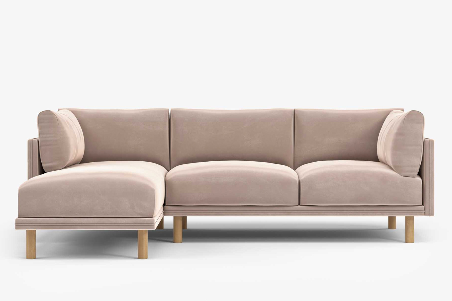 Rove Concepts launched Anderson, a traditional sectional with subtle Nordic whimsy.