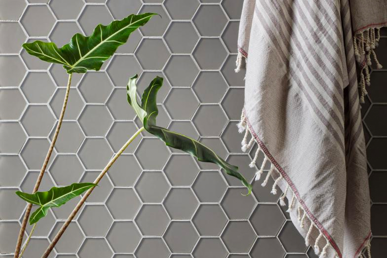 The collection uses a neutral color palette for coordination with other tiles, as well as a selection of custom brights that provide the opportunity to pop.