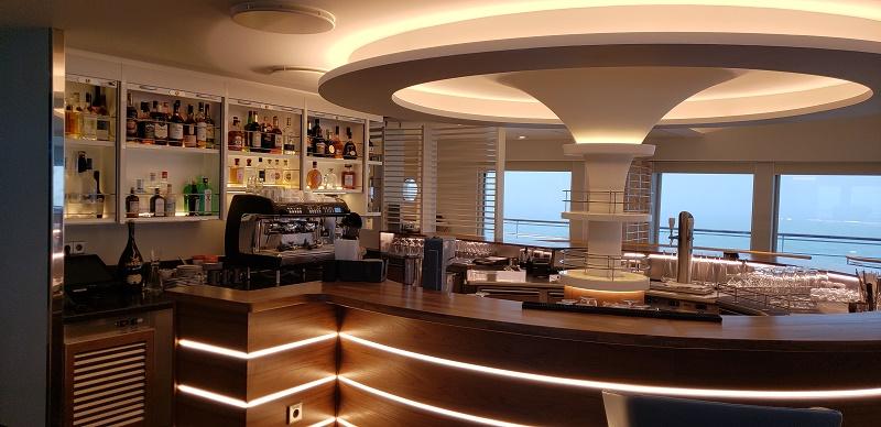 The Observation Lounge's bar