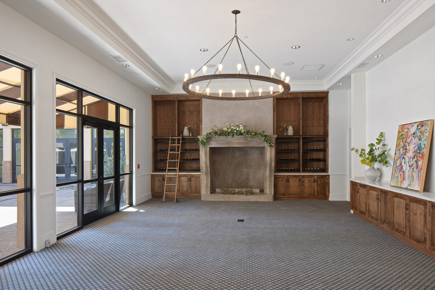 The hotel has 5,000 square feet of venue space that can host up to 300 guests.