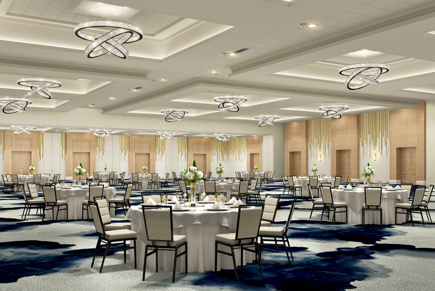 The property will have 234,000 square feet of renovated meetings space.