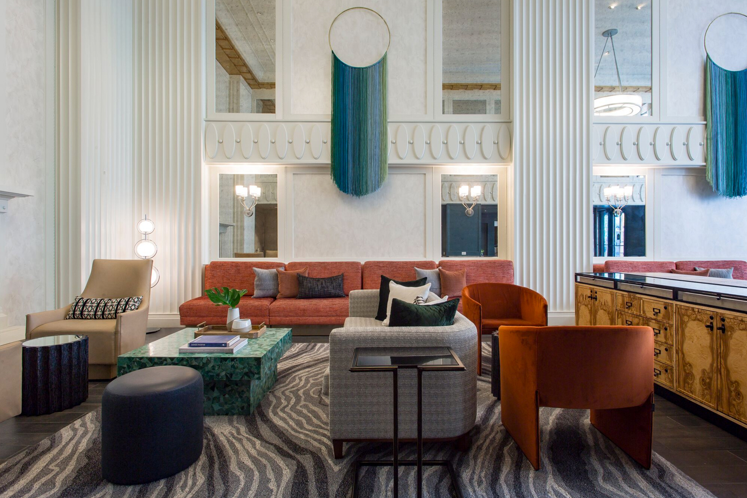 Kimpton Hotel Monaco Chicago completed a full renovation of its lobby, guestrooms and suites.