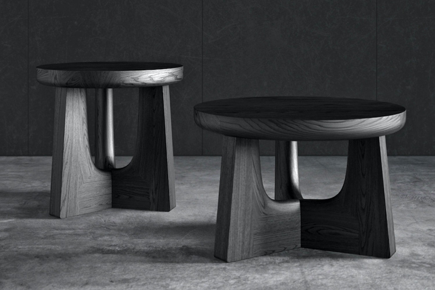 Poliform launched Nara, a versatile piece of furniture used as a table, stool, bedside table or a coffee table.