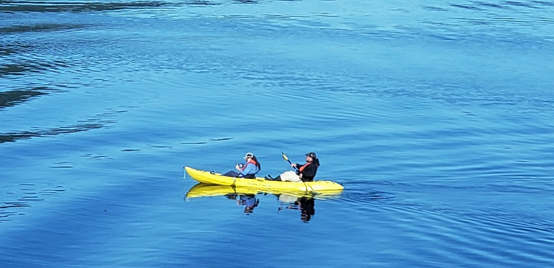 Kayak adventure in southeastern Alaska by National Geographic Venture guests. Photo by Susan J. Young