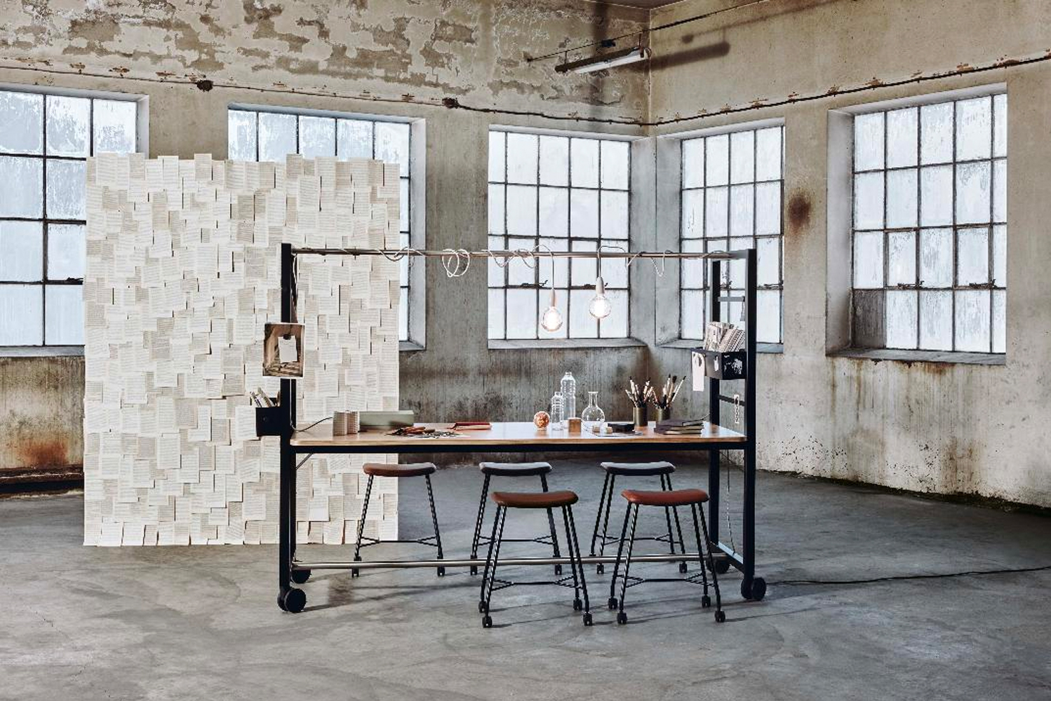 With partner brand Materia, Scandinavian Spaces introduced Vagabond and Motus to the North American market.