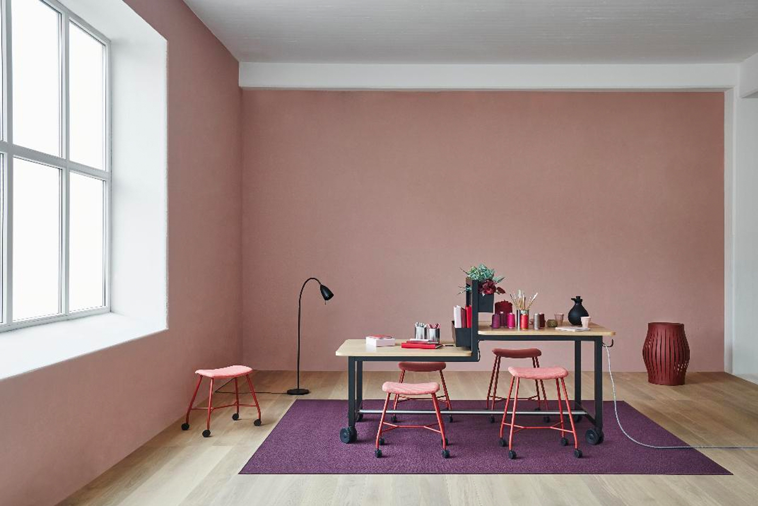 The furniture line was designed by Marie Oscarsson.