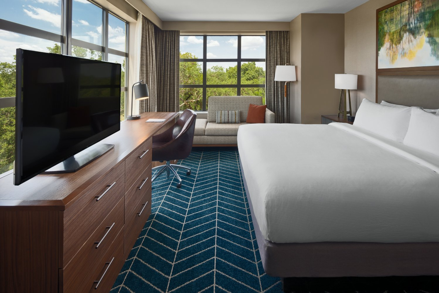 The Bevy Hotel Boerne, a DoubleTree by Hilton, has opened in Texas.