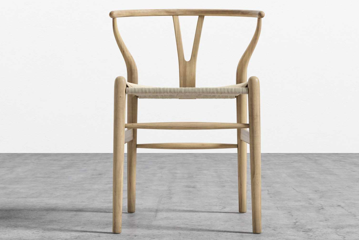 Introducing the Wishbone chair, a reproduction of one of the most classic designs from the mid-century modern era.