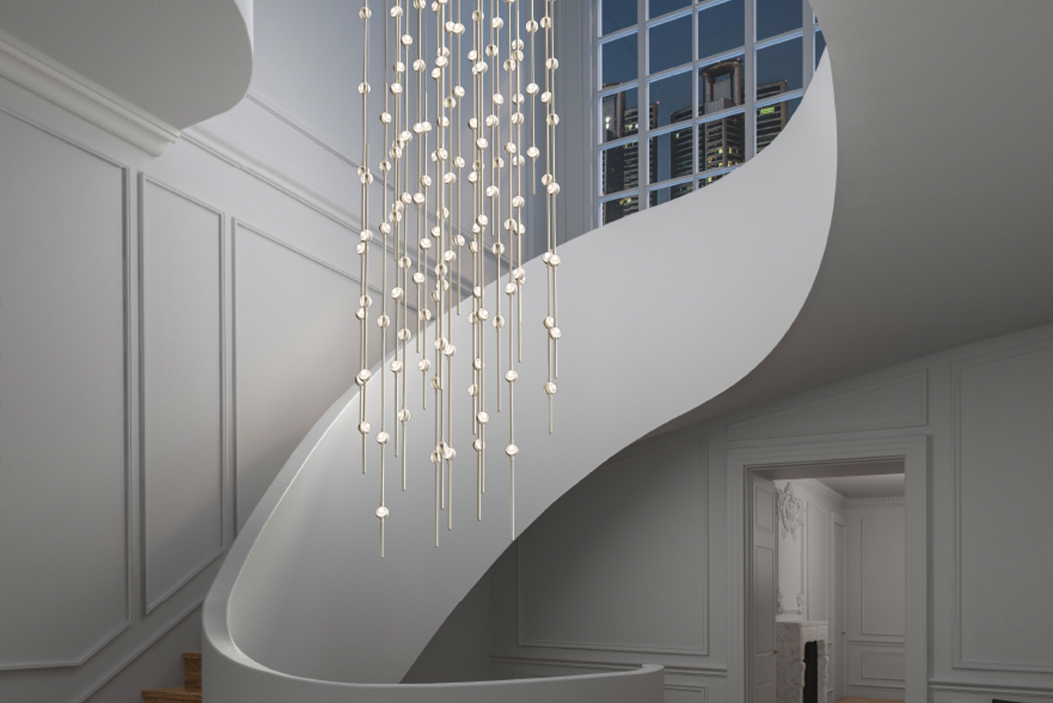 Introducing Andromeda Galaxy, the latest LED configuration from Sonneman—A Way of Light's Constellation collection.