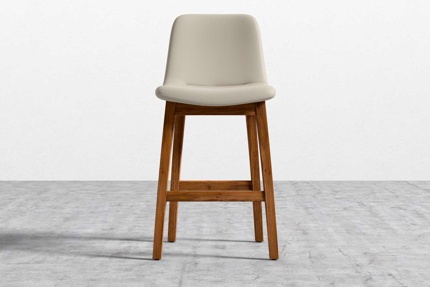 Introducing the Aubrey counter stool, inspired by the Aubrey armchair and side chair.