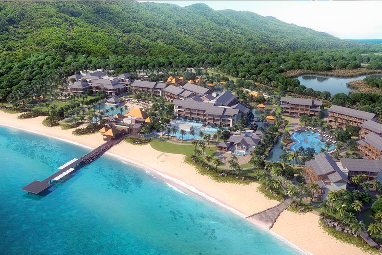 Cabrits Resort & Spa Kempinski Dominica has opened as the second venture of Kempinski Hotels in this region and Dominica's newest five-star resort.