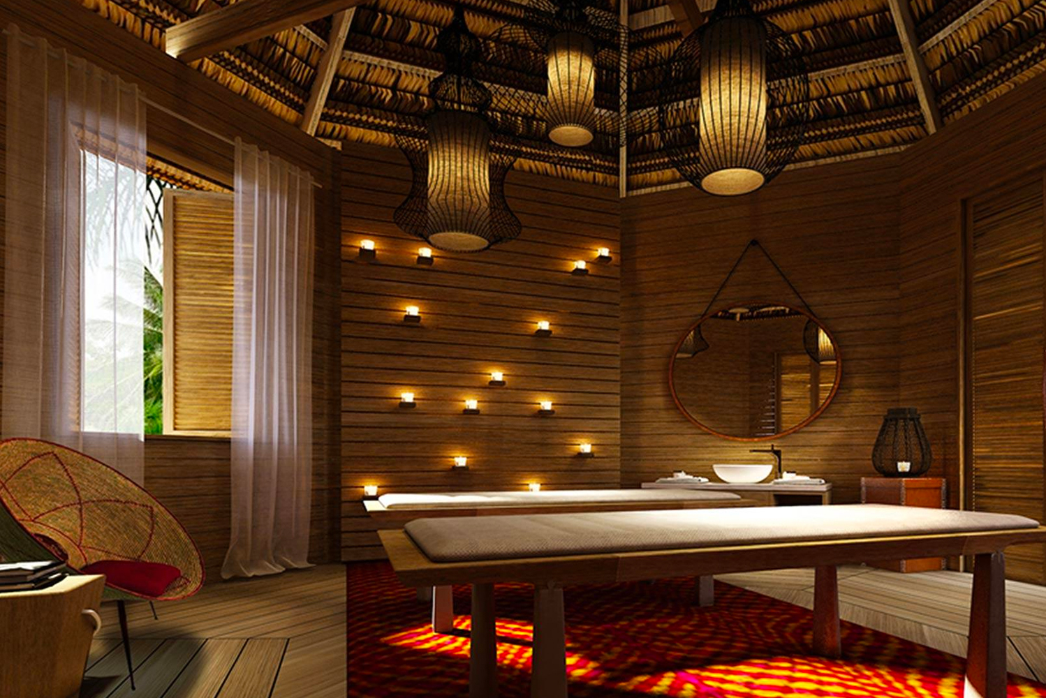 Kempinski The Spa at Cabrits Resort & Spa Kempinski Dominica offers 1,700 square meters (18,299 square feet) of spa facilities in bungalow-style treatment rooms.