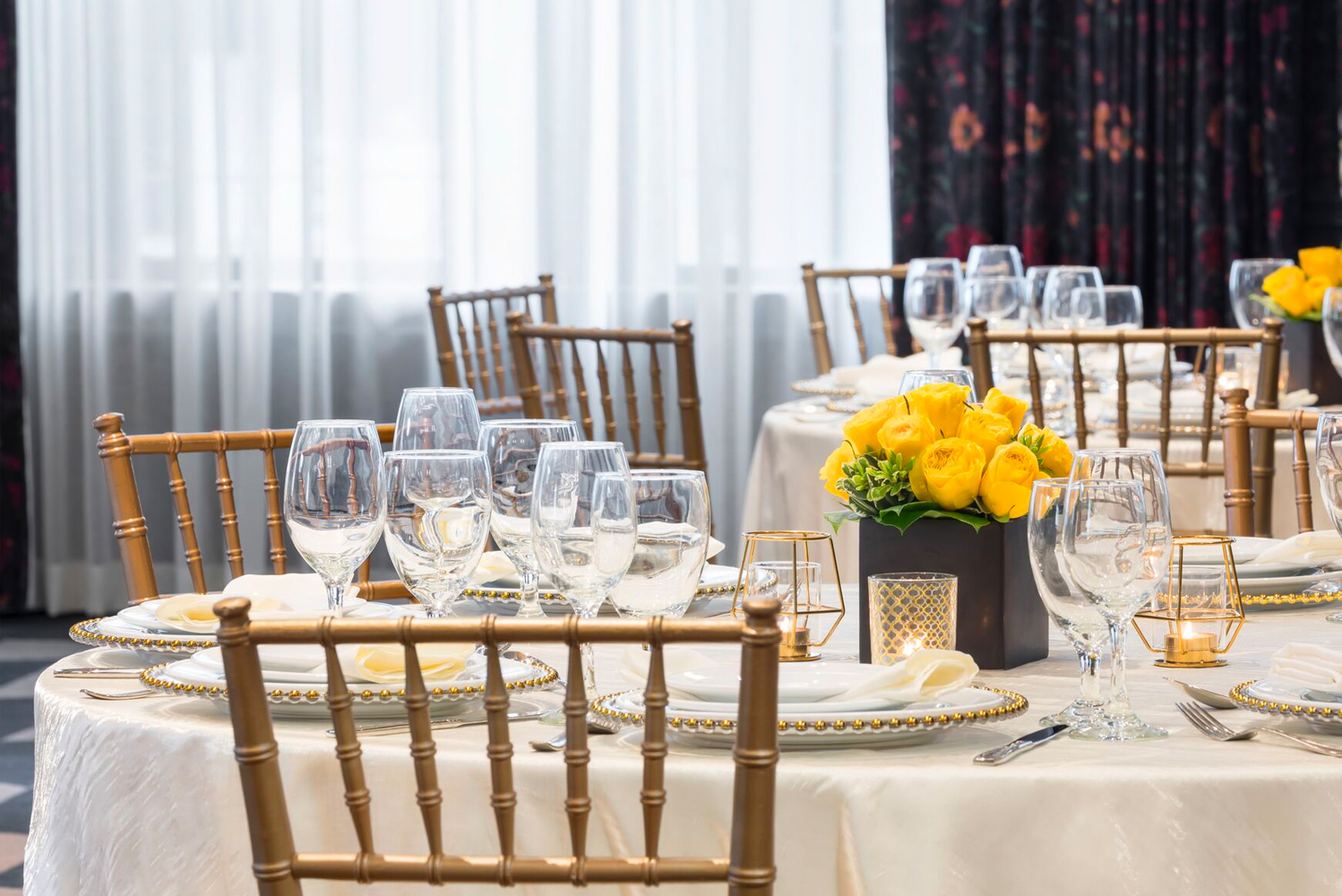 For events, the property has 6,000 square feet of function space, including a grand ballroom. The hotel can accommodate groups of up to 300 people.