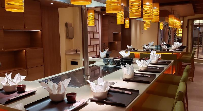 Teppanyaki room of Bonsai Sushi & Teppanyaki. Photo by Susan J. Young