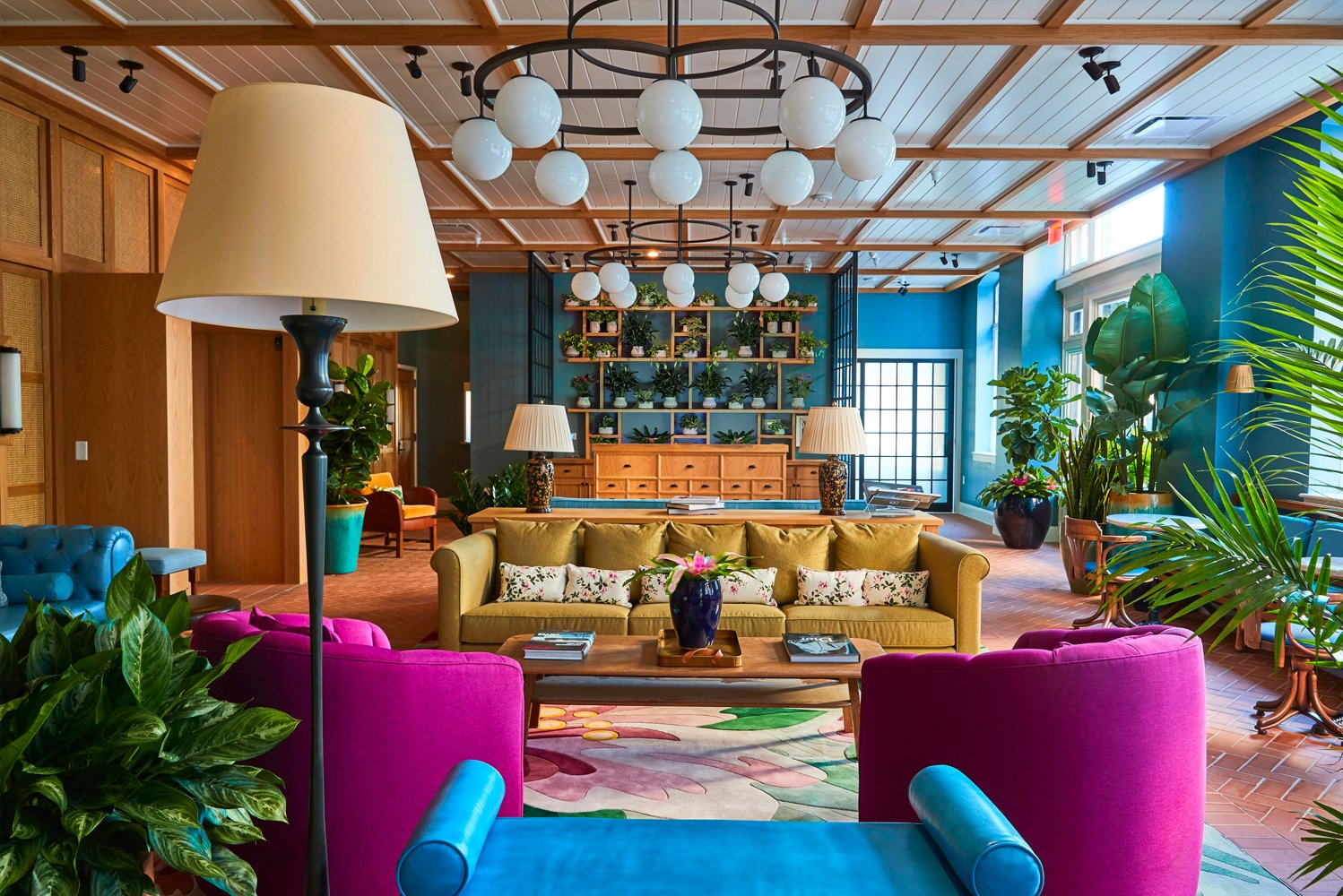 New York-based design firm nemaworkshop completed the interiors of The Drayton Hotel in the Historic District of Savannah, Georgia.