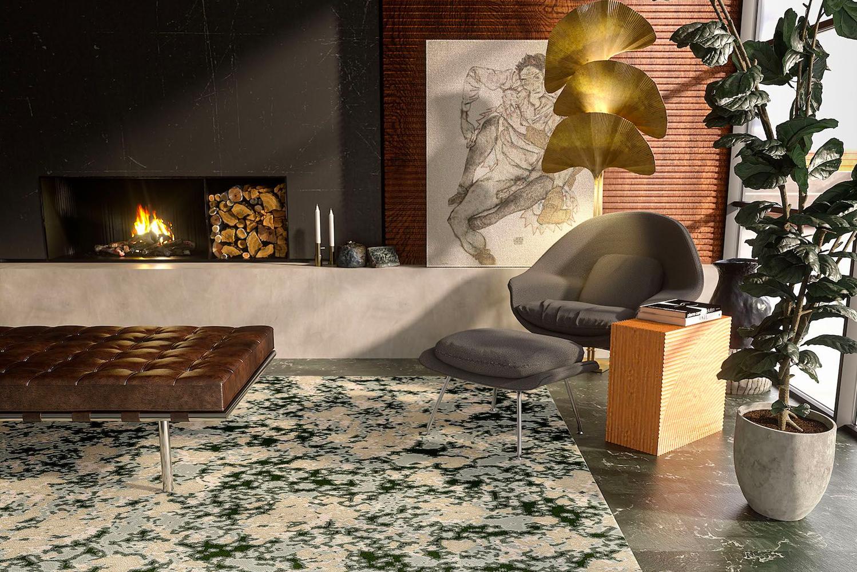 Each pattern showcases Tarkett's technology and custom design capabilities.