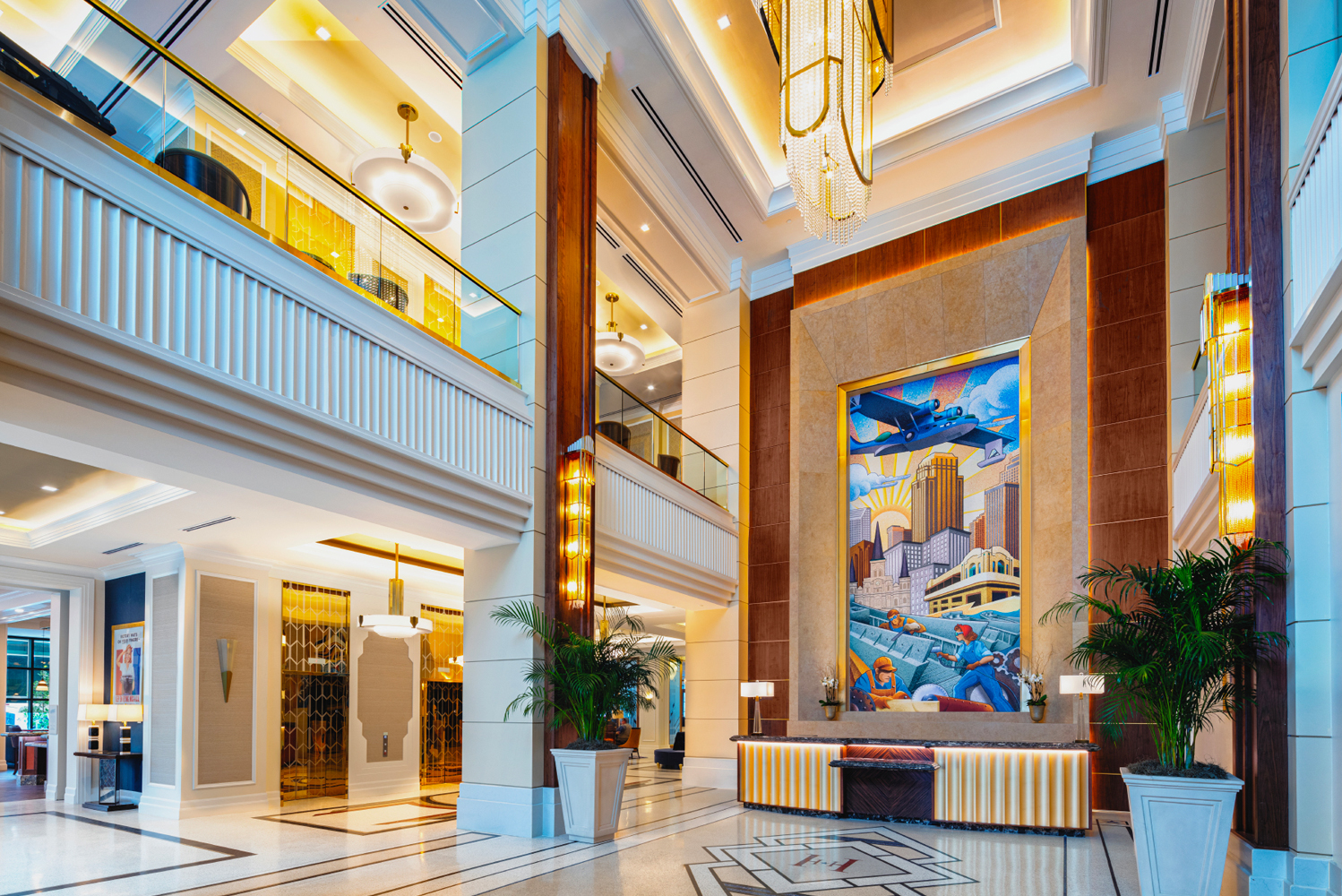 The hotel is the first in the state of Louisiana to be part of the exclusive Curio Collection by Hilton.