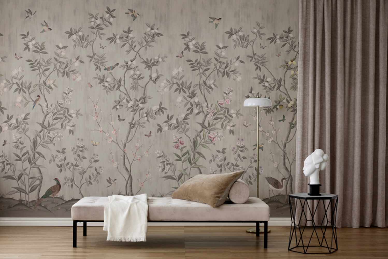Introducing the La Chinoiserie collection by Rebel Walls.