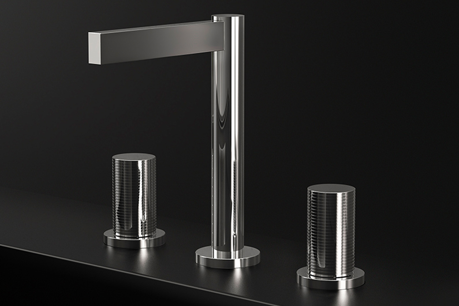 The Nerea and Lollipop are also available as wall-mount faucets.