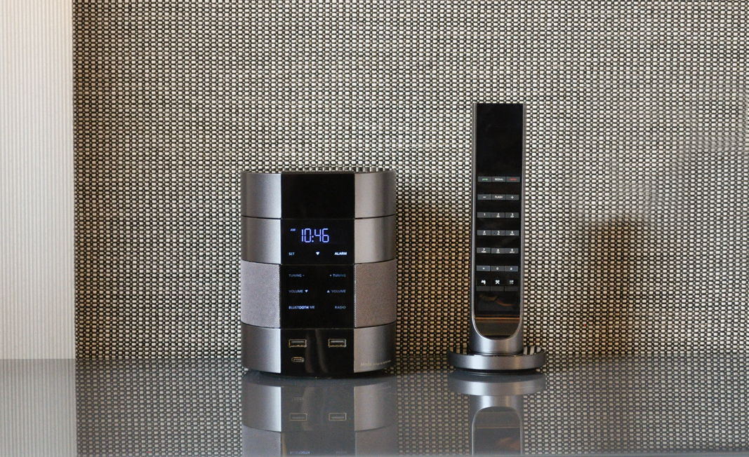 Bittel's Moda smart room device is powered by Volara's voice-based conversation-management software.